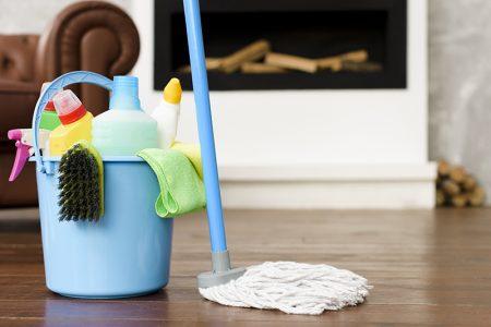 Podłogi - mycie
